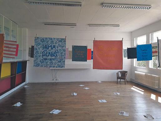 Mathilde Denizart, installation « Le nom des femmes », septembre 2021