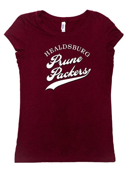 Womens Prune Packers T-Shirt