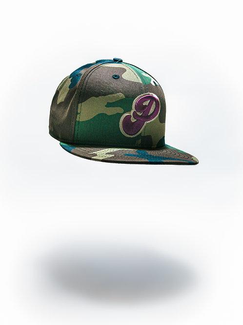 Prune Packers Camo Fitted Field Cap