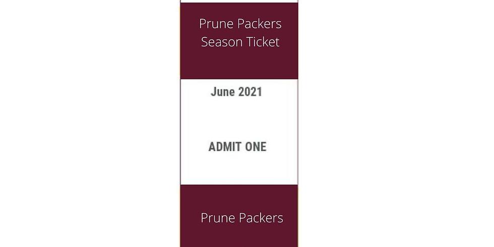 Prune Packers Season Tickets