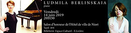 Ludmila Berlinskaia  concert 14 juin 2019 à Niort