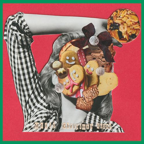 Christmas Card - 'Merry Christmas Sugar'