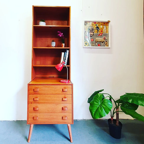 Domino Drawers With Bookcase
