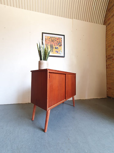 Mid Century Compact Sideboard