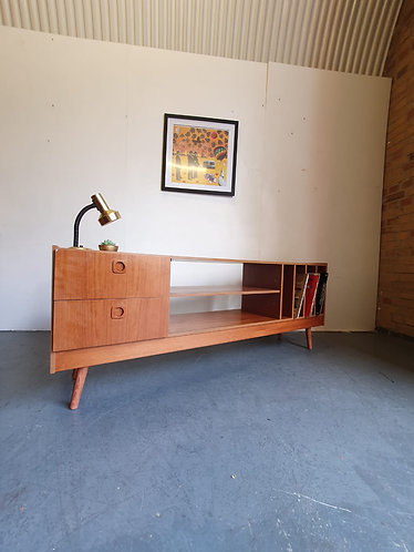 Mid Century Record Sideboard
