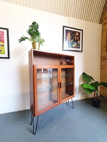 Vintage Display Bookcase