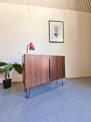 Danish Rosewood Compact Sideboard