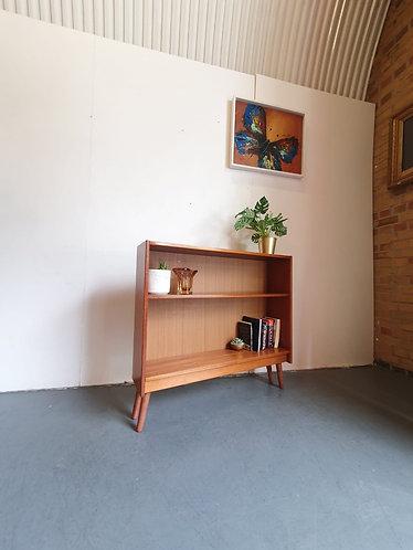 Mid Century Slim Bookcase