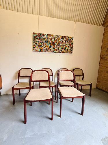 6 x Skovby Dining Chairs