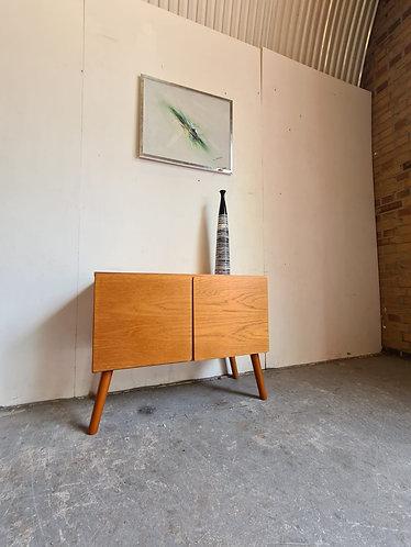 Teak Compact Sideboard