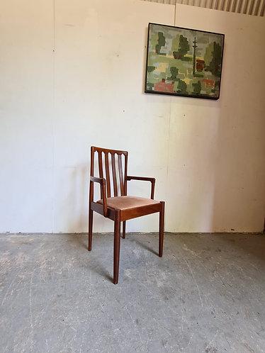 Mid Century Teak Desk Chair