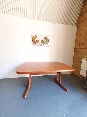 A M Mobler Extending Dining Table