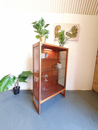 Mid Century Display Case