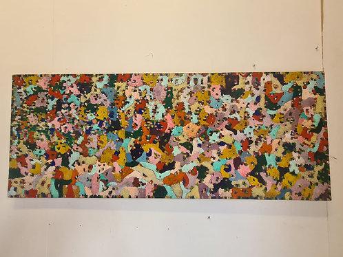 Original R Savage 1969 Painting