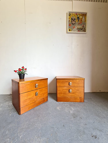 Stag Bedside Tables