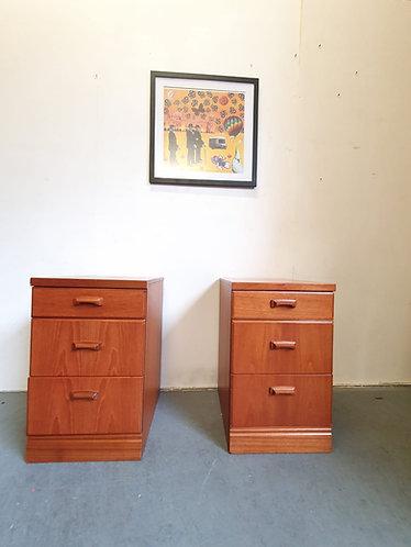 2 x McIntosh Bedside Tables