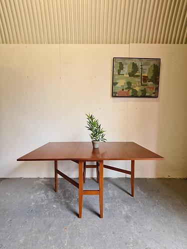 Mid Century Drop Leaf Table