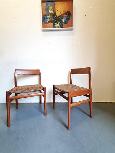2 x Johannes Norgaard Chairs
