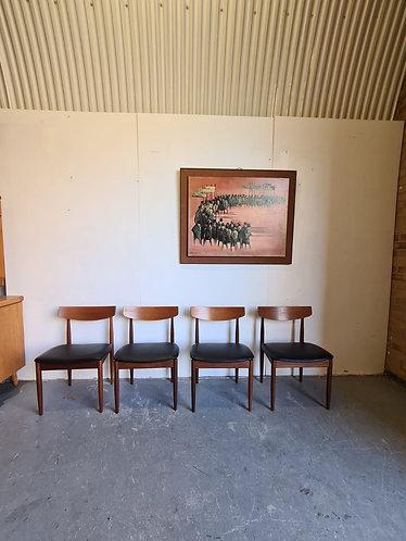 4 x Kofod Larsen Dining Chairs