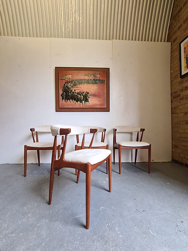 4 x Johannes Andersen Dining Chairs