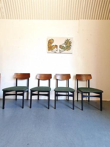 4 x G Plan Dining Chairs