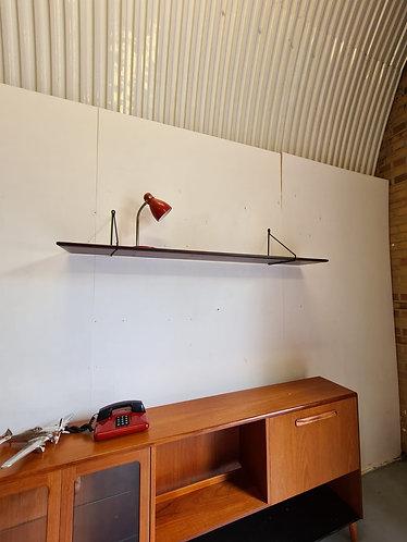 Danish Rosewood Wall Shelf