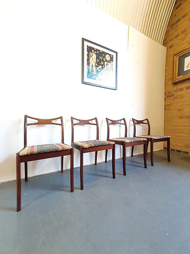 4 x Danish Teak Dining Chairs