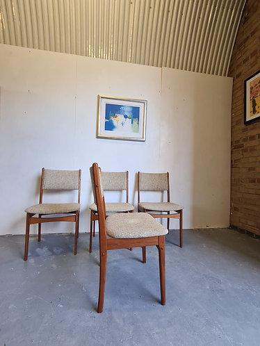 4 x Danish Dining Chairs