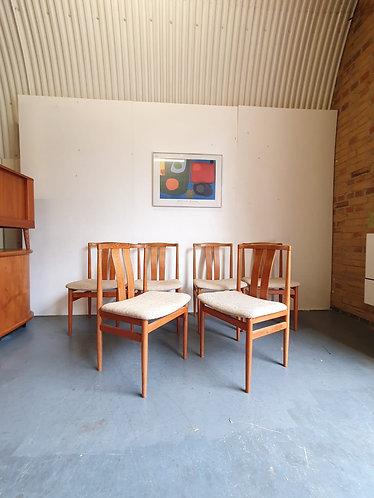 6 x Vamdrup Dining Chairs