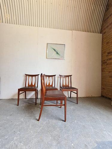 4 x G Plan 'Brasilia' Dining Chairs