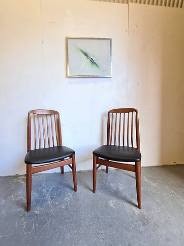 2 x Benny Linden Dining Chairs