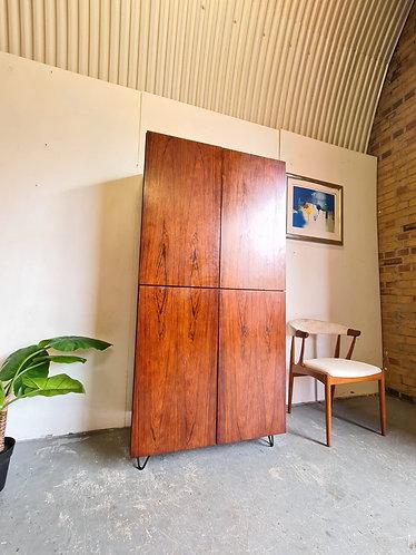 Danish Rosewood Storage Cabinet