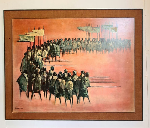 March Of The Kings Framed Print