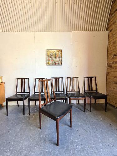 6 x Danish Overseas Dining Chairs