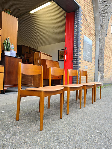 4x Mid Century Dining Chairs