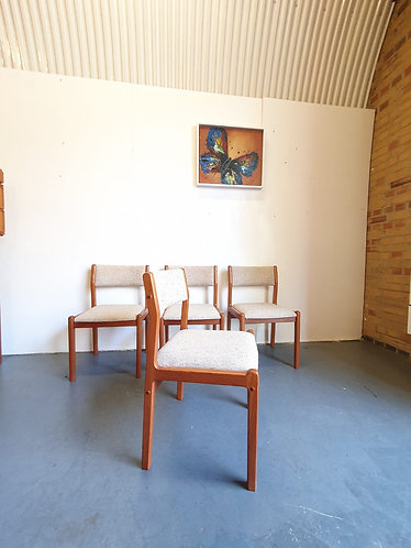 4 x JL Moller Dining Chairs
