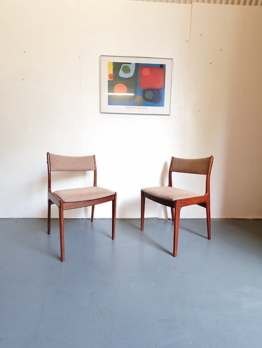 2 x Eric Bouch Dining Chairs