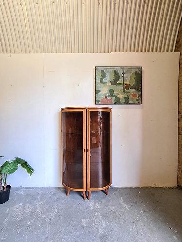 2 x Uldum Moblefabrik Corner Display Cases