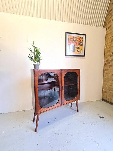 Danish Rosewood Display Case