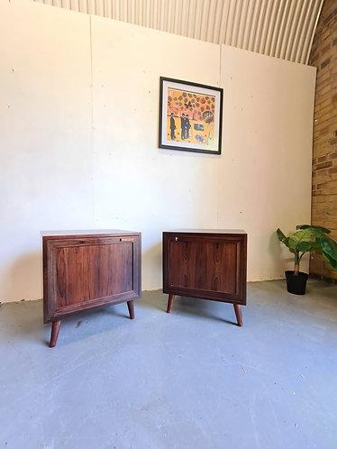 Danish Rosewood Bedside Tables
