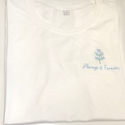 "Forget Me Not Tee - Always & Forever ""The Bea"""