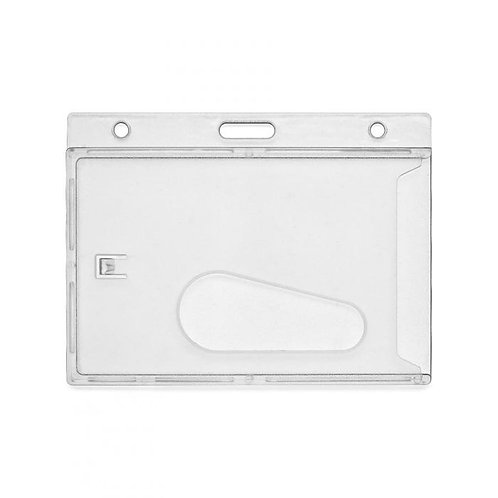 Clear ID badge holder / protector