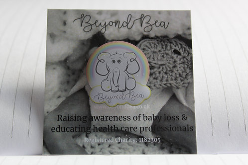 Beyond Bea Charity Pin Badge