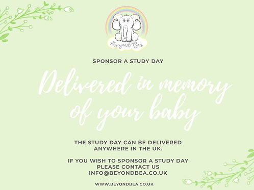 Sponsor a Study Day in memory