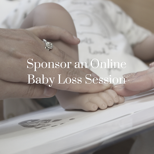 Sponsor an online baby loss session
