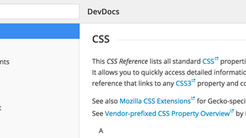 DevDocs - Great Reference!