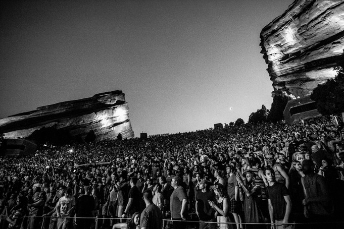 Directing at Red Rocks
