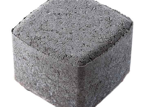 Тротуарная плитка вибропрессованная 1К.8 Классика-1 серая