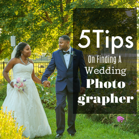 5 Tips to Finding a Great Wedding Photographer