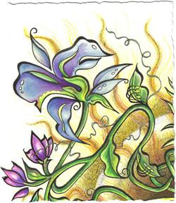 sun and blue flower exotic 2.jpg